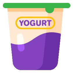 yoğurt ayran kabı
